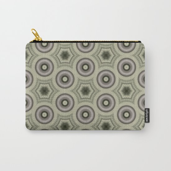 Fractal Cogs n Wheels in CMR03 Carry-All Pouch