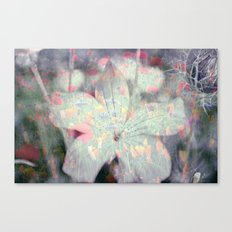 Flowers and Fields Canvas Print