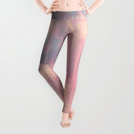 Candy Glitched Sky Leggings