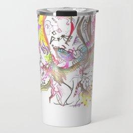 Abstract Beauty Travel Mug