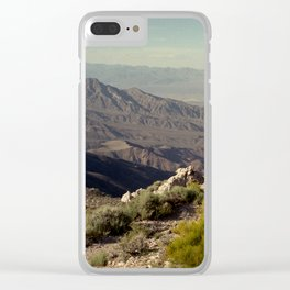 Death Valley Clear iPhone Case