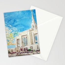 Ogden Utah LDS Temple Stationery Cards