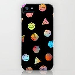 Platonic solids II iPhone Case