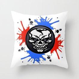 Society6 art logo Throw Pillow