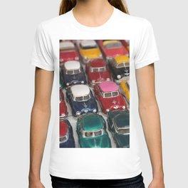 Vintage Retro Design Illustration Cuba Cars mini T-shirt