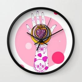 Chibi Moon Wall Clock