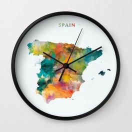 Spain Wall Clock