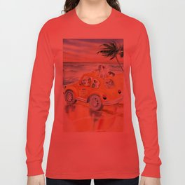 Dogs On Vacation Long Sleeve T-shirt