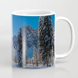 Sunny morning in Val Fiscalina Coffee Mug