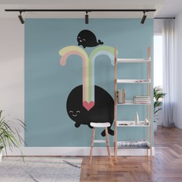 whales Wall Mural