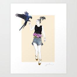 Martina Art Print
