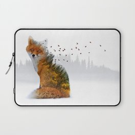 Wild I Shall Stay | Fox Laptop Sleeve