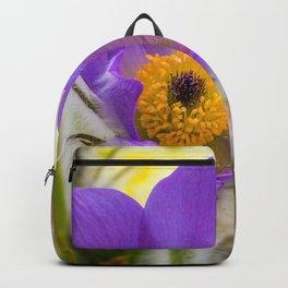 Flower macro Backpack