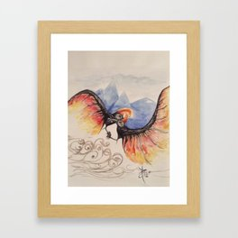 The Jian Framed Art Print