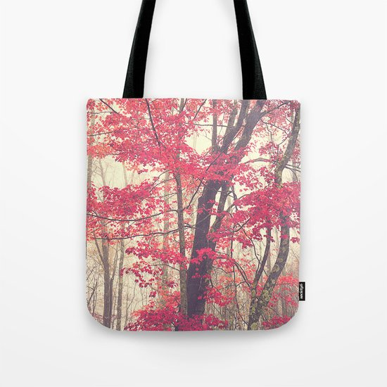 Autumn Red Tote Bag