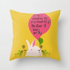creative life Throw Pillow