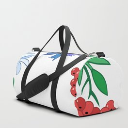 Frame from flowers Duffle Bag