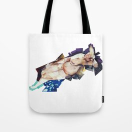 big nude Tote Bag