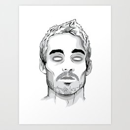 Daniel Johns Art Print