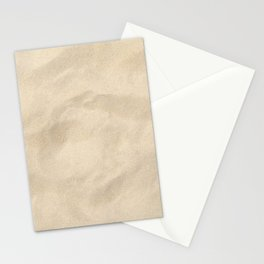 Light Brown Sand texture Stationery Cards