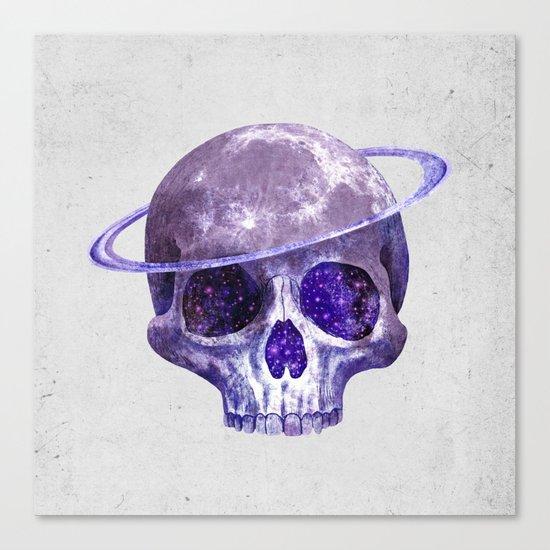 Cosmic Skull Canvas Print