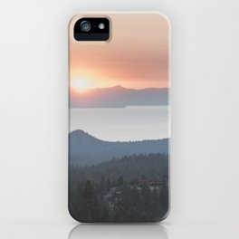 Mountain Top View iPhone Case