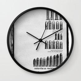 Relentless Recklessness 2 Wall Clock