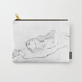 embrace your body - nude girl portrait Carry-All Pouch
