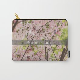 Spring Court Carry-All Pouch