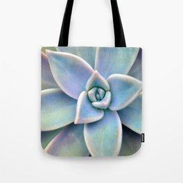 Pastel Succulent Tote Bag