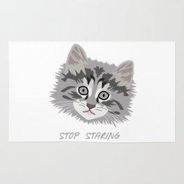 A Kitten's Eyes Rug