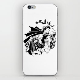 Vampire in love iPhone Skin