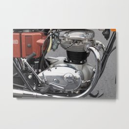 BSA Thunderbolt Metal Print