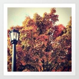 Autumnal Nostalgia Art Print