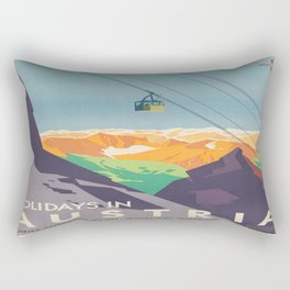 Vintage poster - Austria Rectangular Pillow