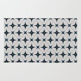 Diamond Wallpaper with Warm Grey Back Rug