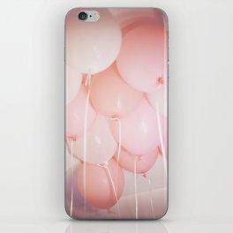 Pink Balloons iPhone Skin