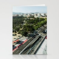 barcelona Stationery Cards featuring Barcelona by jmdphoto