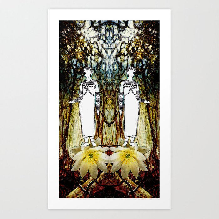 Skogsrå Art Print