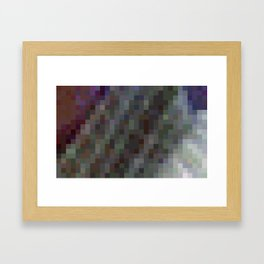ABSTRACT PIXELS #0001 Framed Art Print