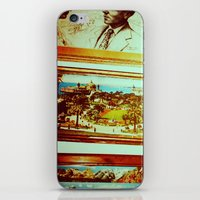 frame iPhone & iPod Skins featuring Frame by Charlie May