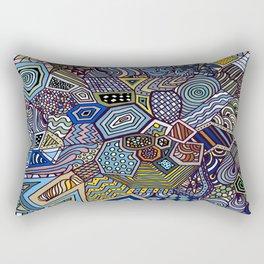 Midnight Wanderlust Rectangular Pillow