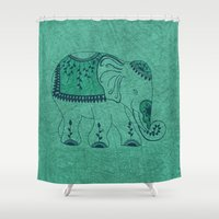 royal tenenbaums Shower Curtains featuring Royal by rskinner1122