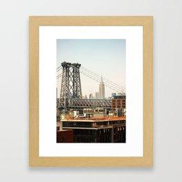 Open Up Your Mind Framed Art Print