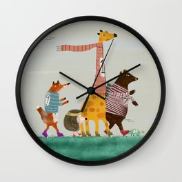 the fun run Wall Clock