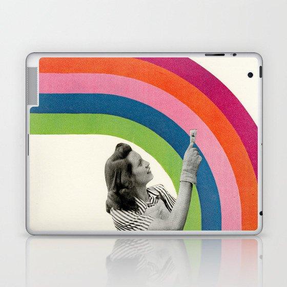 Paint a Rainbow Laptop & iPad Skin