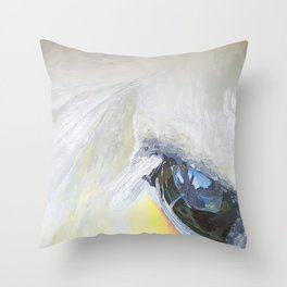 Horseeye Throw Pillow