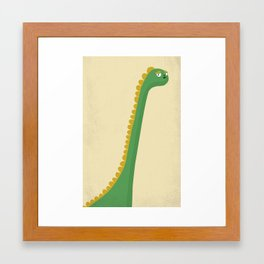 Cute Dinosaur Framed Art Print