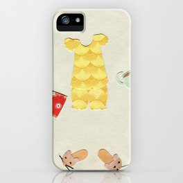 Pajama Outfit iPhone Case