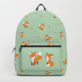 Cute Little Foxes Backpack